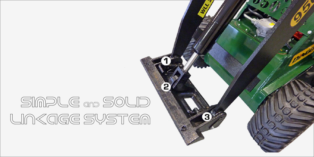 Simple & solid linkage system
