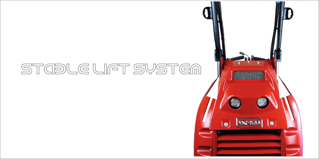 Dingo stable lift system